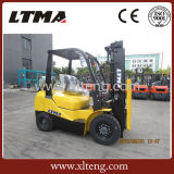 Heißer Verkaufs-Chinese 2.5 Tonnen-Gabelstapler mit Mast 3-Stage