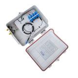 1X16 Doos van de Splitser van de vezel zet de Optische voor FTTH, Pool/Muur de Hub van de Distributie van de Optische Vezel op