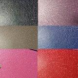 Capa de capa electrostática del polvo de la textura del agua del modelo del cuero del color de Ral