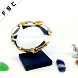 Armband van de Charme van het Kristal van de Juwelen van de Keramiek van de Vrouwen van de manier de Gouden