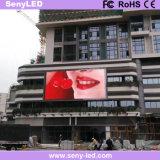 Alto brillo a todo color exterior vallas publicitarias de la pantalla LED para publicidad
