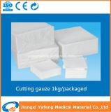 Parte chirurgica 21sx21s/30X20 della garza del taglio del cotone