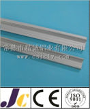 6061t5 alluminio anodizzato nero, profilo di alluminio dell'espulsione (JC-W-10046)