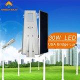 30W de luz de calle solar integrada (KSL30W)