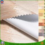 ホーム織物上塗を施してある防水Frカーテンのための停電によって編まれるポリエステルファブリック