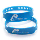 Bracelet en caoutchouc imprimé personnalisé sur mesure avec des mots