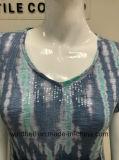 Bequemes Kleid für Frauen mit Gleichheit-Farbe