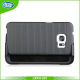 Samsung S7の端のためのKickstandのベルトクリップ箱