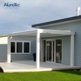 Aluminiumgazebos-Puder-überzogener Tragflächen-Luftschlitz-DachPergola