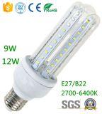 9W 12W 3u Forma Lámpara de maíz LED Lúmenes altos