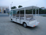 Changzhou coche eléctrico paisaje con 14 pasajeros