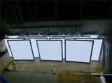 사각은 중단한 매우 얇은 천장 LED 위원회 빛을 중단했다