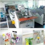 China hizo que la fabricación de cajas cosmética del conjunto trabaja a máquina (el rectángulo del PVC de los PP del ANIMAL DOMÉSTICO)