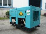 El tiempo de generador diesel Prueba Set con motor Kubota