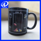Taza cambiante de la sublimación de la alta calidad 3D de la taza de café del color de cerámica