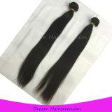 Человеческие волосы сырцовых изготовлений Weave волос девственницы индийские прямые