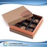 Regalo de San Valentín de lujo joyas/// caja de embalaje de Dulces de Chocolate (XC-FBC-021)