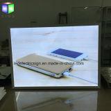 "24 muestras del cartel del teléfono del LED de ""X 36"" para el marco de aluminio con la tarjeta de la muestra del LED"