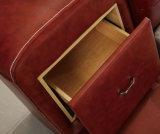 침실 가구 Fb8141를 위한 일본과 한국 현대 작풍 진짜 가죽 침대
