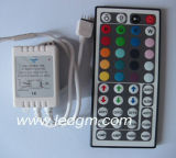 tira flexible de 12V/24V 5050 RGB LED con el regulador del telecontrol del IR