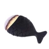 머리 물고기 모자를 가진 모양 인어 개인 상표 메이크업 솔