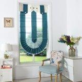 Cortinas romanas do ventilador do Chenille do OEM para a sala de visitas (32R0013)