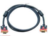 3+9 Kabel des VGA-Kabel-1.5m HD