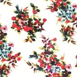 Tissu de soie 100% Pure Natural Silk Digital Printing (SZ-0034)