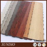 O laminado interior Hickory Pavimentos de madeira de plástico de PVC piso de vinil
