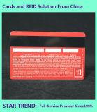 Tarjeta de PVC 30mil con banda magnética HiCo para VIP miembro