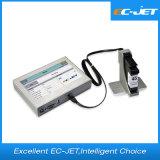 Código de barras de alta resolución y fecha de caducidad de la impresora de chorro de tinta (ECH700).