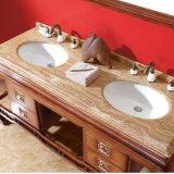 Классицистический твердый американский шкаф раковины ванной комнаты золы (GSP14-020)