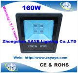 Indicatore luminoso caldo del traforo dell'inondazione Light/LED Floodlight/LED della PANNOCCHIA LED di approvazione 100W 120W 160W 200W di vendita Ce/RoHS di Yaye 18 con 3/5 di anno di garanzia
