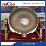 cuiseur industriel de la vapeur 50L-1000L avec l'agitateur de mélangeur inclinant l'acier inoxydable