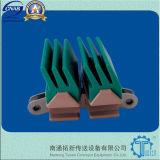 側面の曲る1873tabシリーズプラスチックコンベヤーの鎖(1873T-K325)