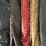 Bronzare il micro tessuto normale della pelle scamosciata della fibra per la presidenza del sofà di Coverred