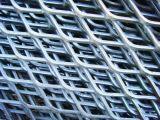 Heavy Duty de diamantes de la placa plana de acero galvanizado de malla de metal expandido