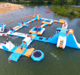 호수를 위한 거대한 최신 뜨 팽창식 물 공원 물 공원