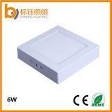 Oberfläche eingehangenes quadratisches Panel des LED-Deckenleuchte-Küche-Innenlampen-Licht-6W