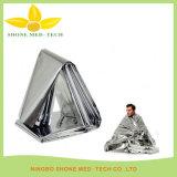 Coperta del di alluminio del pronto soccorso/coperte Emergency di salvataggio