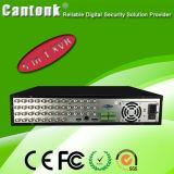 1개의 32 채널 Xvr 지원 8 SATA 하드 디스크 CCTV 안전 DVR에 대하여 5