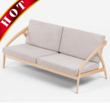 Sala Mobiliário de quarto Modern Walnut Oak Beech Sofa Set