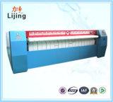 Het Verwarmen van de Apparatuur van de wasserij Schoonmakende Elektrische Enige het Strijken van de Rol Machine met Octrooi