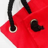 OEM coulisse en nylon rouge 210D de sacs à dos pour des voyages