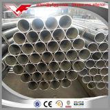 Frontière de sécurité à faible teneur en carbone noire de Dn50 ERW et pipe en acier de construction