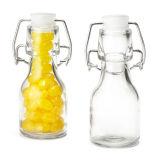 Glasoberseite-Flasche des schwingen-50ml mit luftdichter Dichtung