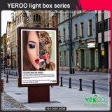 Cadre Mupi d'éclairage LED éclairé à contre-jour par matériel de la publicité extérieure