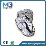 최신 판매 선전용 금속 나비 접어젖힌 옷깃 Pin