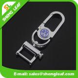 Laagste Prijs van het Gebruik van Keychain van het Metaal van twee Sleutelring de Gemakkelijke