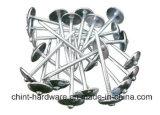 De de gegalvaniseerde Spijker van het Dakwerk/Spijkers van het Dakwerk/de GolfSpijkers van het Dakwerk